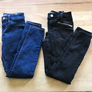 2 pairs Old Navy jeggings